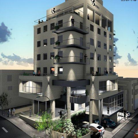 בניין משרדים – הנביאים 8